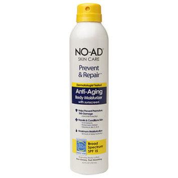 No-ad NO-AD Prevent & Repair Anti-Aging Body Moisturizer SPF 15, Spray, 6.5 fl oz