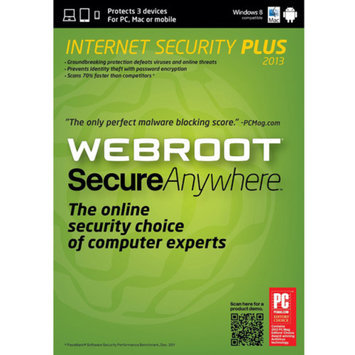 Webroot SecureAnywhere Internet Security Plus Software