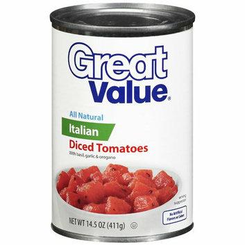 Great Value : Italian Diced Tomatoes