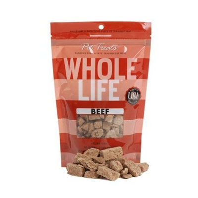 Whole Life Pet Products Whole Life Pet Pure Meat All Natural Freeze Dried Beef Filet Treats 4 oz