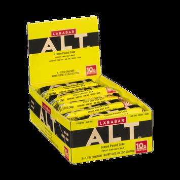 Larabar Alt Fruit and Nut Bar Lemon Pound Cake - 15 CT