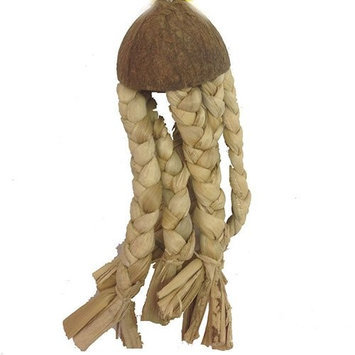 A & E Cage Java Wood Jellyfish Bird Toy