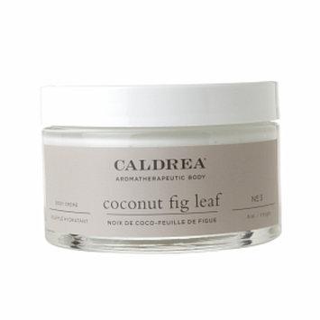 Caldrea Body Crème, Coconut Fig Leaf, 6 oz