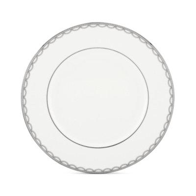 Lenox Dinnerware, Iced Pirouette Dinner Plate