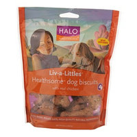 Halo, Purely For Pets Liv-a-Littles Healthsome Dog Biscuits