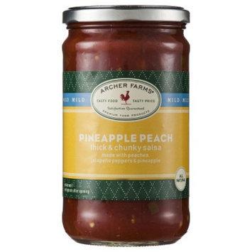 Archer Farms Pineapple Peach Mild Thick & Chunky Salsa - 24 oz.