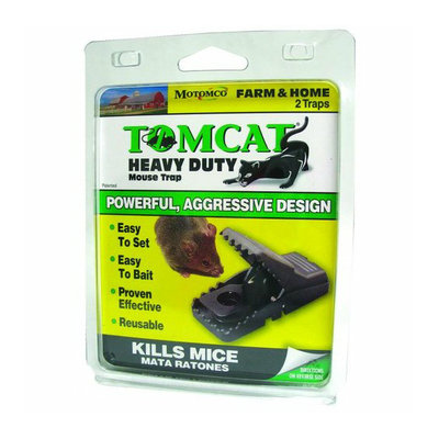 MOTOMCO LTD. Motomco 33530 Tomcat Heavy Duty Mouse Trap