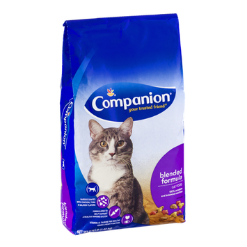 Companion Cat Food Blended Formula