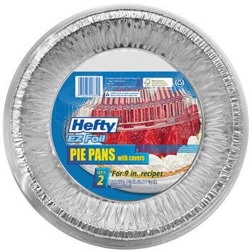Pactiv Hefty EZ Foil 2 Pk Pie Plate with Lid - PACTIV