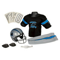 Franklin Sports NFL Panthers Deluxe Uniform Set - Small