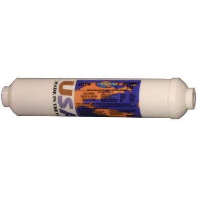 Omnipure K5605-JJ 1/4 Inch Quick Connect Inline Water Filter