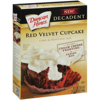 Duncan Hines Red Velvet Cupcake Cake & Frosting Mix 19.4 oz