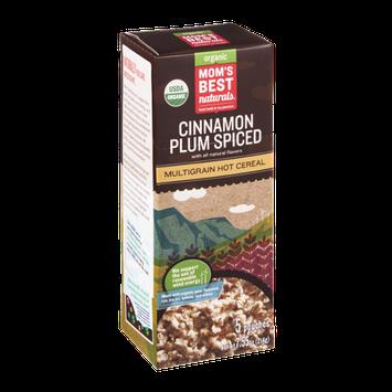 Mom's Best Naturals Organic Multigrain Hot Cereal Cinnamon Plum Spiced - 5 CT