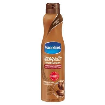 Vaseline Spray & Go Moisturizer Cocoa Radiant