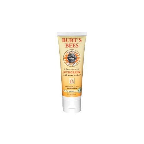 Burt's Bees Sunscreen SPF 15, 3.46-Ounce Tube