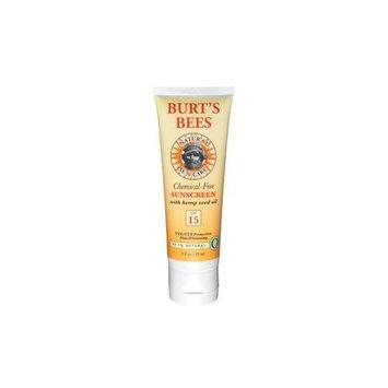 Burt's Bees Chemical Free Sunscreen Hemp Seed Oil