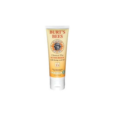 Burt's Bees Chemical Free Sunscreen Hemp Seed Oil