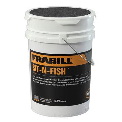 Frabill Sit-N-Fish 10-qt. Insulated Bucket