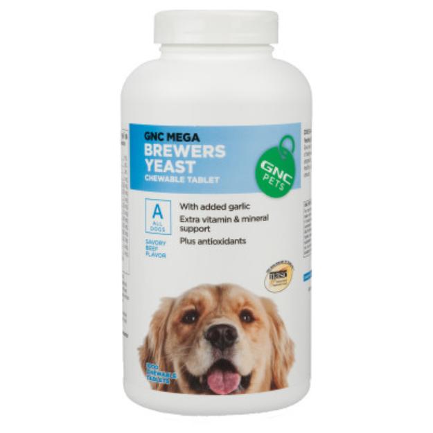 GNC Pets GNC Mega Brewers Yeast Dog Chewable Tablet