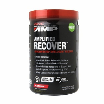 GNC Pro Performance AMP Amplified Recover, Watermelon, 11.4 oz