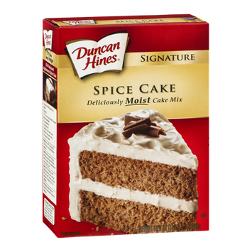 Duncan Hines Signature Cake Mix Spice Cake