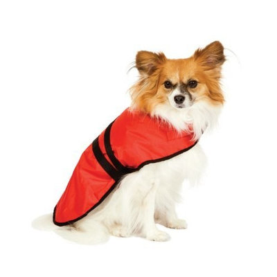 Fashion Pet Blanket Coat for Dogs, Essential Red, X-Small