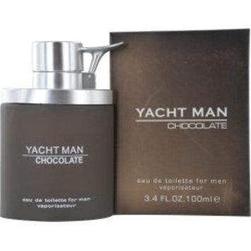 Yacht Man Chocolate Edt Spray 3.4 Oz By Myrurgia