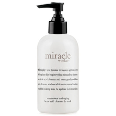 philosophy the miracle worker lactic acid cleanser