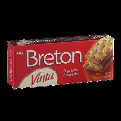Breton Vinta Crackers with 8 Grains & Seeds