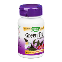 Nature's Way Green Tea Standarized 95% Polyphenols/75% Catechins Capsules - 30 CT