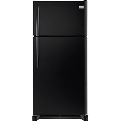 Frigidaire Gallery 18 cu. ft. Top Freezer Refrigerator - Black