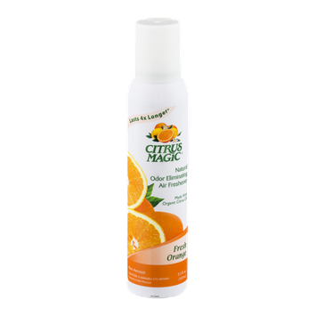 Citrus Magic Odor Eliminating Air Freshener Fresh Orange