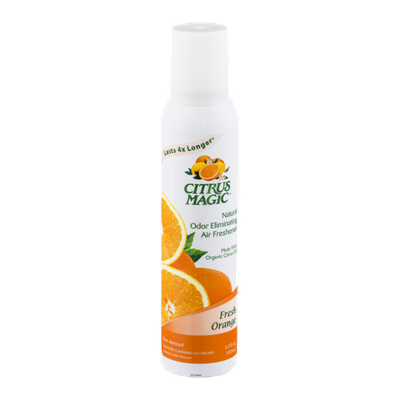 Citrus Magic Odor Eliminating Air Freshener Fresh Orange