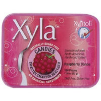 Emerald Forest Xyla , Raspberry Dance, 100-Count Mints (Pack of 6)