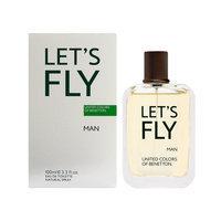 Benetton Let'S Fly By Benetton Edt Spray 3.4 Oz