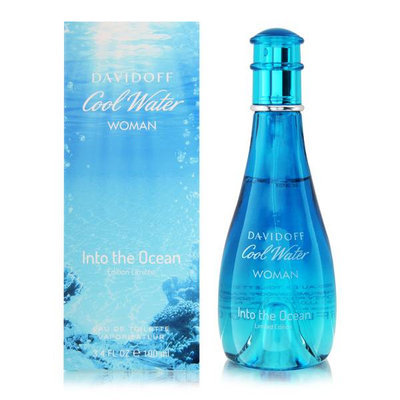 Davidoff Cool Water Woman Into The Ocean Edt Spray 100ml