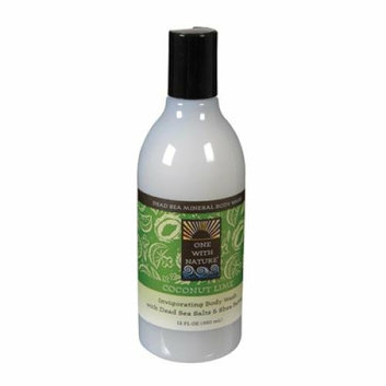 One With Nature Dead Sea Mineral Body Wash Coconut Lime 12 fl oz