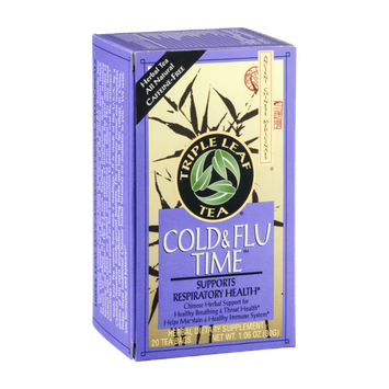 Triple Leaf Tea Cold & Flu Time Tea - 20 CT
