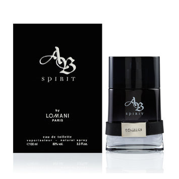 AB Spirit by Lomani for Men - 3.3 oz EDT Spray