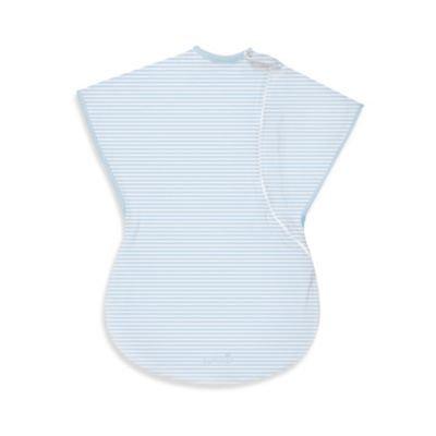 Summer Infant Large ComfortMe Wearable Blanket in Blue Stripe