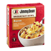 Jimmy Dean Breakfast Bowl Bacon