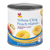 Ahold Yellow Cling Peach Halves in Extra Light Syrup
