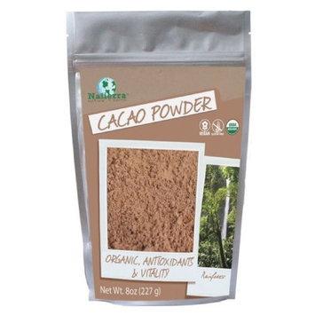 Natierra Cacao Powder, 8 Ounce
