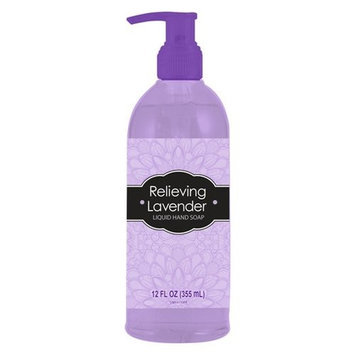Relieving Lavender Liquid Hand Soap, 12 fl oz