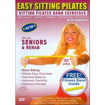 Funcercise Easy Sitting Pilates: Sitting Pilates Band Exercises with Sunshine