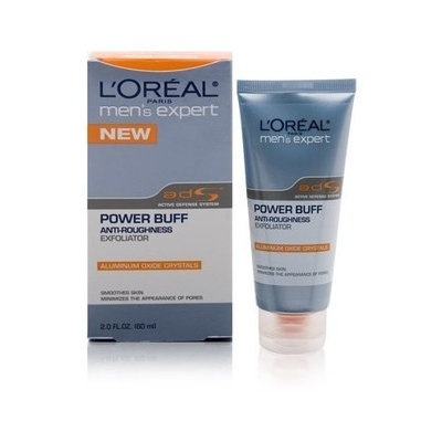 L'Oréal Paris Mens Expert Power Buff Anti-Roughness Exfoliator