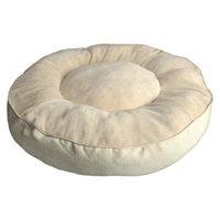 Boots & Barkley XXL Round Mattrress - Bleached Sand/Sour Cream