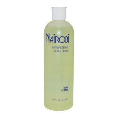 Nairobi Kool Player Yelow Antibacterial After Shave for Unisex, 16 Ounce