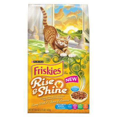 Purina Friskies PurinaA FriskiesA Rise & Shine Adult Cat Food