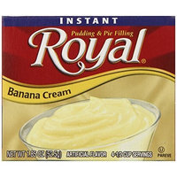 Royal Instant Pudding, Banana Cream, 1.85 Ounce (Pack of 12)